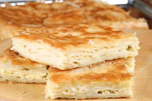 Turkish Savory Pastry with Feta Cheese-Su Boregi 1.1 lb