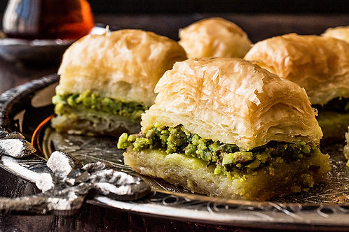 Baklava with pistachios (~2,5 LB)