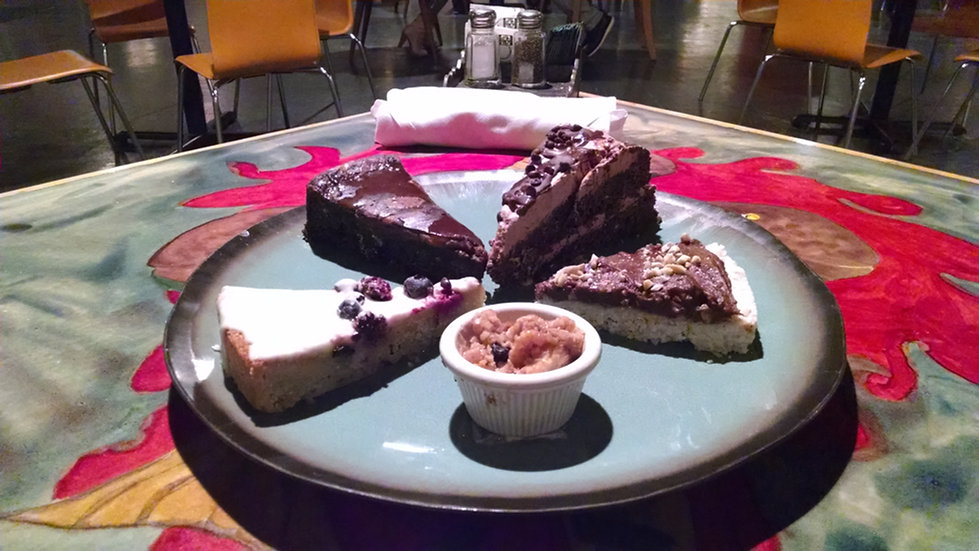 "Beet Vanilla Rooibus Cake (V/GF) 12"""