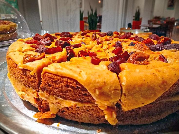 "Orange Vanilla Rooibos Cake (V/GF/NF) 12"""