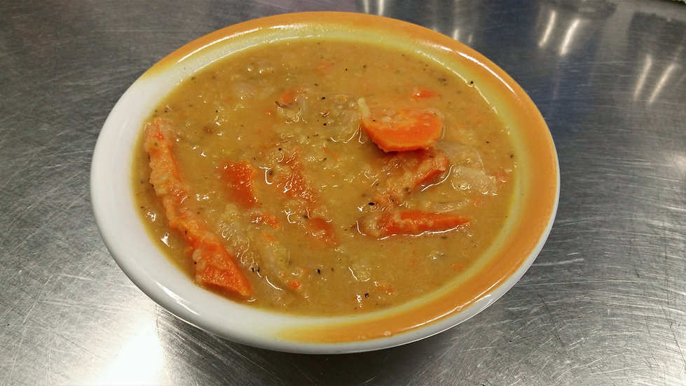 Ginger Carrot Soup (V)