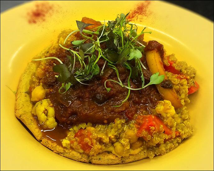 Curry Quinoa (V)