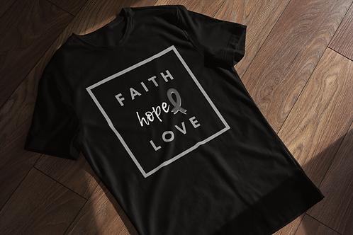 Cancer Faith Hope Love Short-Sleeve Unisex T-Shirt