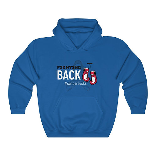 Fighting Back Unisex Heavy Blend™ Hooded Sweatshirt
