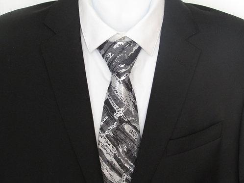 Silver Splash Necktie