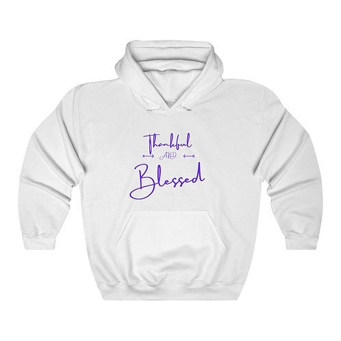 Thankful And Blessed Unisex Heavy Blend™ Hooded Sweatshirt