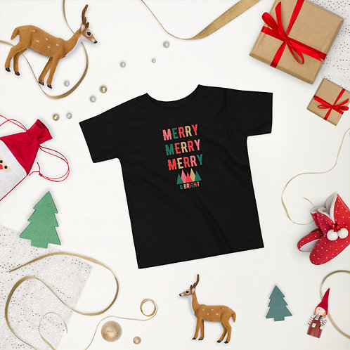 Merry & Bright Toddler Short Sleeve Tee