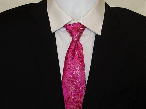 Passion Pink Necktie