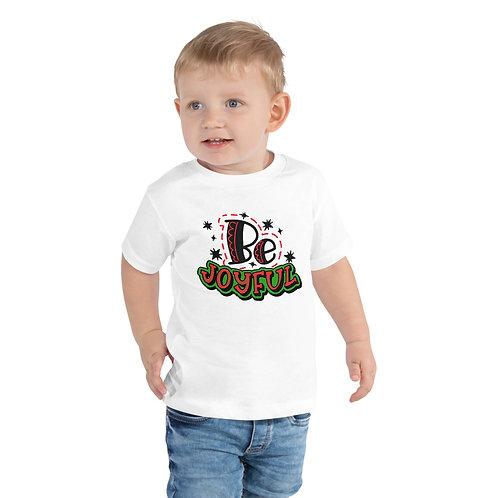 Be Joyful Toddler Short Sleeve Tee