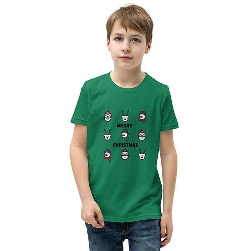 Merry Christmas Youth Short Sleeve T-Shirt