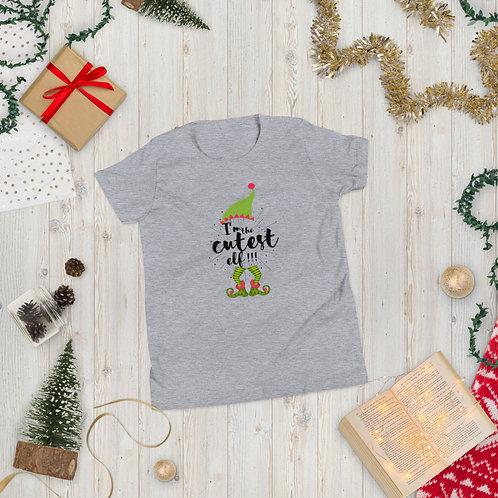 Cutest Elf Youth Short Sleeve T-Shirt