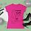 Thumbnail: Thick Girls Break Necks Women's Heavy Cotton Tee