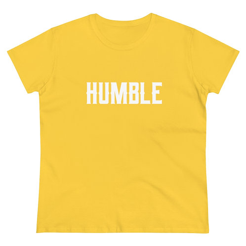 Humble Women's Heavy Cotton Tee