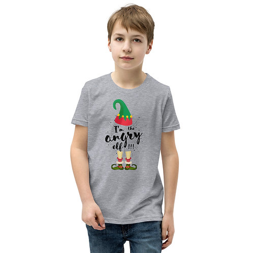 Angry Elf Youth Short Sleeve T-Shirt