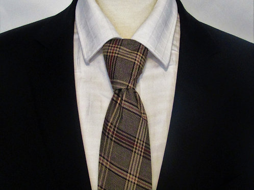 Harvest Plaid Necktie