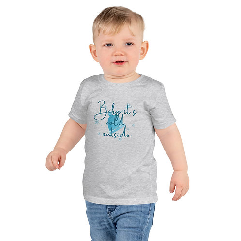 Baby It's Cold Short sleeve kids t-shirt