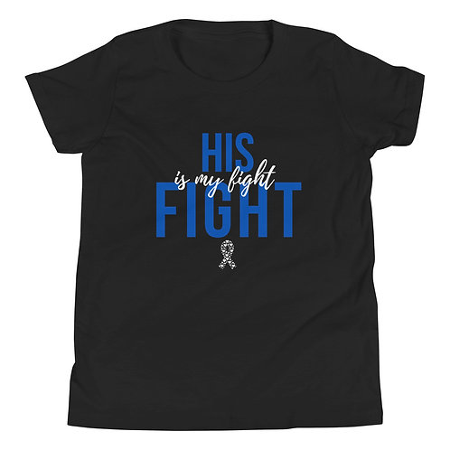 His Fight Youth Short Sleeve T-Shirt