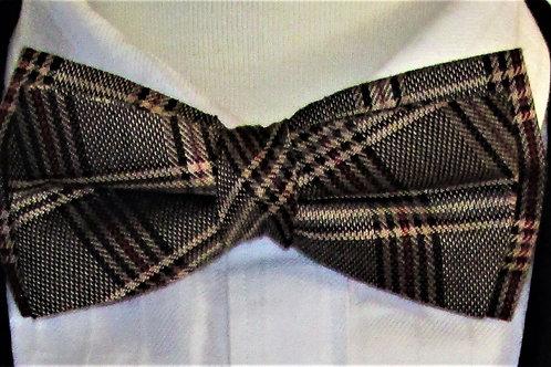 Harvest Plaid Bow Tie