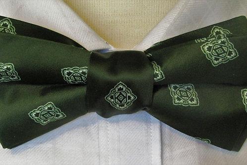 Varsity Green Bow Tie