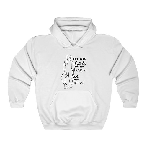 Thick Girls Women's Unisex Heavy Blend™ Hooded Sweatshirt