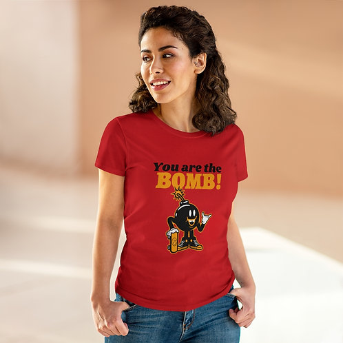You're the Bomb Women's Heavy Cotton Tee