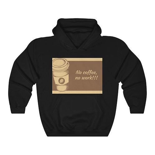 No coffee Unisex Heavy Blend™ Hooded Sweatshirt