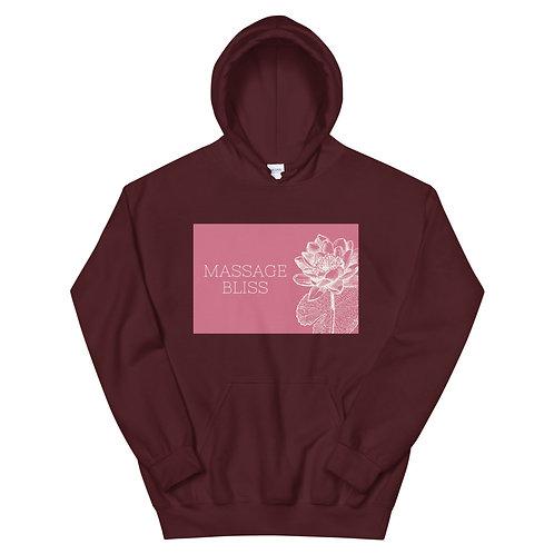 Massage Bliss Pink Unisex Hoodie