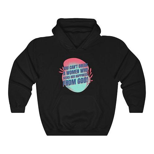You Can't Break A Women Unisex Heavy Blend™ Hooded Sweatshirt