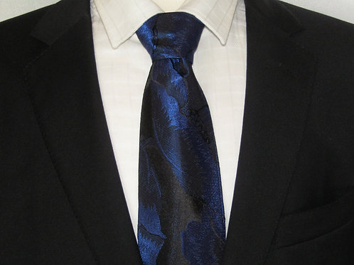 Midnight Blossom Necktie