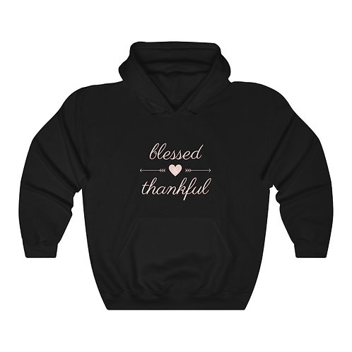 Blessed And Thankful Unisex Heavy Blend™ Hooded Sweatshirt