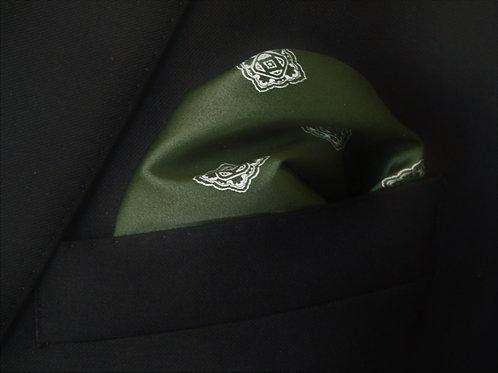 Varsity Green pocketsquare