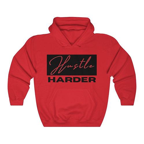 Hustle Harder Unisex Heavy Blend™ Hooded Sweatshirt