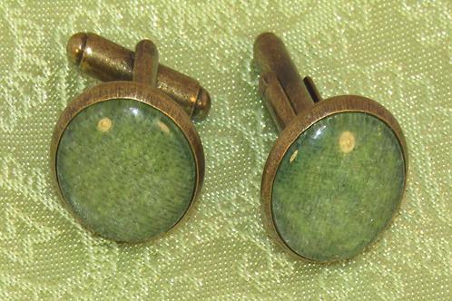 Sage Green Cufflinks