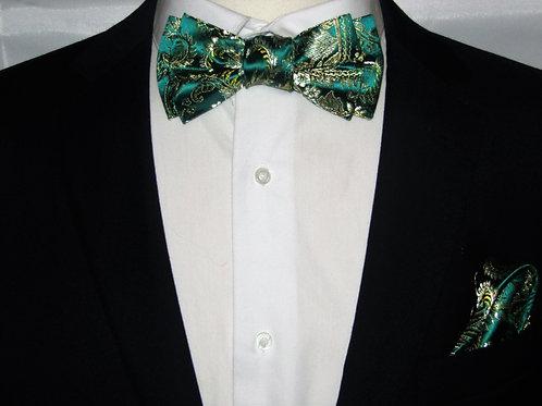 Jade Green 2 Piece Bow Tie Set