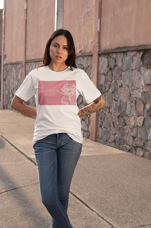 Massage Bliss Pink Unisex T-Shirt