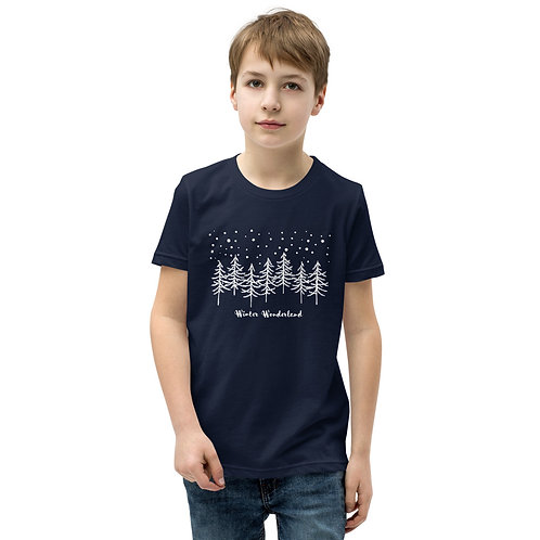 Winter Wonderland Sleeve T-Shirt