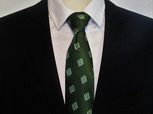 Varsity Green Necktie