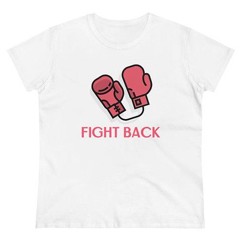 Fight Back Women's Heavy Cotton Tee