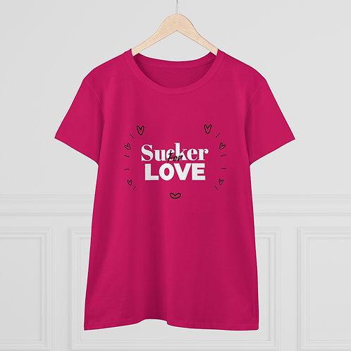 Sucker for Love Women's Heavy Cotton Tee