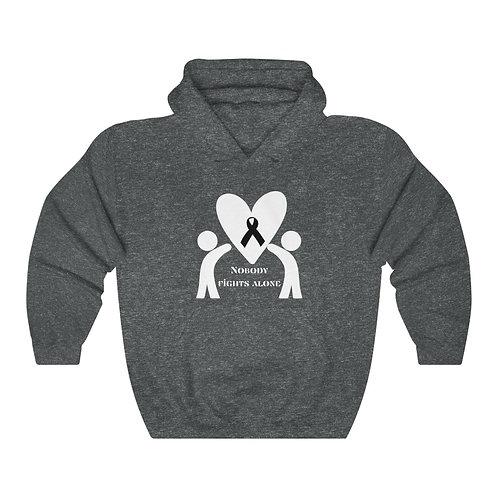 Nobody Fights Alone Unisex Heavy Blend™ Hooded Sweatshirt