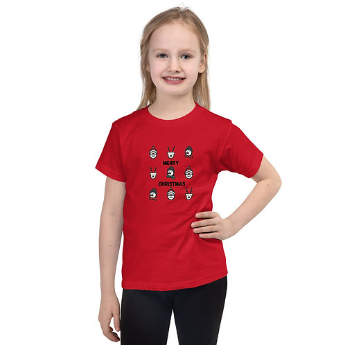 Merry Christmas Short sleeve kids t-shirt