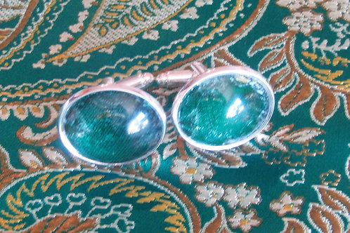 Jade Green Cufflinks