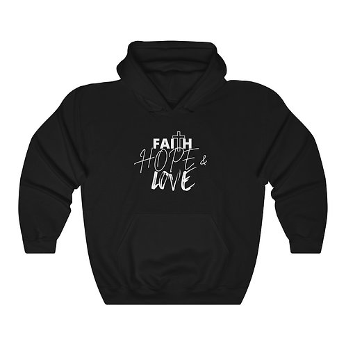 Faith Hope & Love Women's Unisex Heavy Blend™ Hooded Sweatshirt