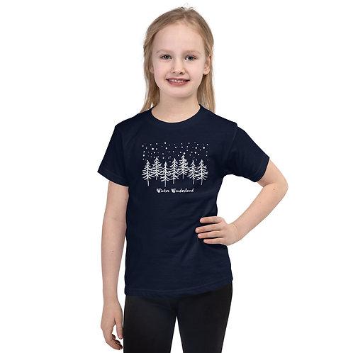 Winter Wonderland kids t-shirt