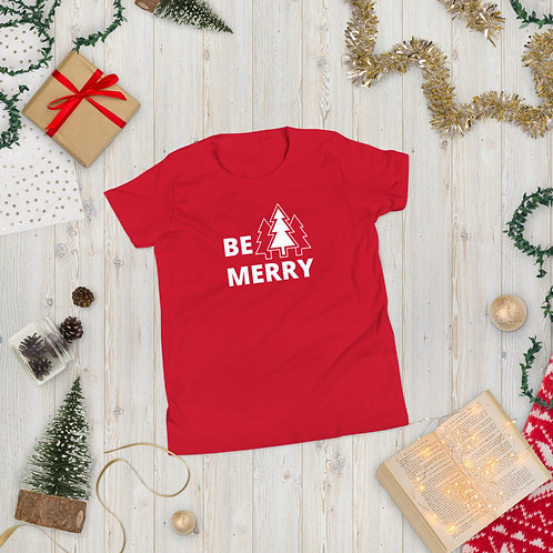 Be Merry Youth Short Sleeve T-Shirt