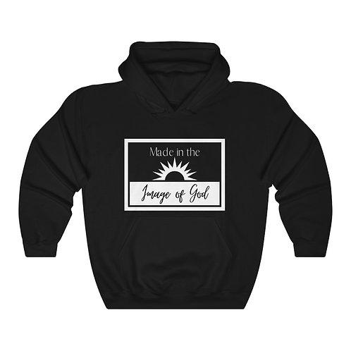 Image Of GOD Unisex Heavy Blend™ Hooded Sweatshirt
