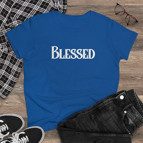 Blessed Women's Heavy Cotton Tee
