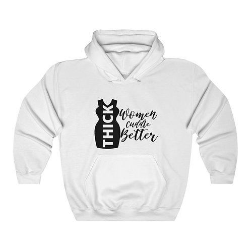 Thick Women Cuddle Unisex Heavy Blend™ Hooded Sweatshirt