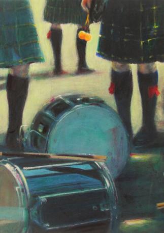 MacMillan Drums-Original Art by Lesley McVicar