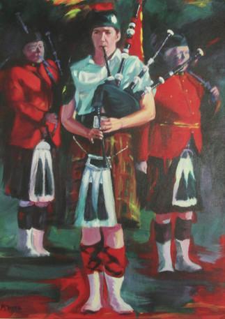 Girl Piper- Original art - Available